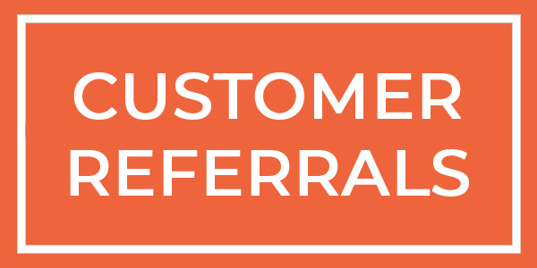 customer referrals button